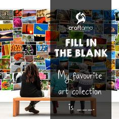 """Fill in the blank: """"My favourite art collection is _____. Art Supplies, Cruelty Free, Fill, Eco Friendly, Let It Be, My Favorite Things, Crafts, Collection, Manualidades"""
