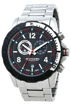 Men's Wrist Watches - Rip Curl Raglan Tide Tidemaster Mens Titanium Watch -- Learn more by visiting the image link. Rip Curl, Cool Watches, Watches For Men, Wrist Watches, Surf Watch, Titanium Watches, Grey Watch, Skeleton Watches, Hand Watch