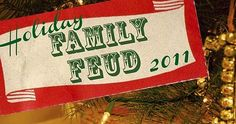 The funniest family Christmas party games you should play with your family this holiday season! The perfect way to spend time with the fam! Christmas Family Fued, Family Christmas Party Games, Adult Christmas Party, Xmas Games, Christmas Gift Exchange, Holiday Party Games, Family Holiday, Holiday Fun, Christmas Holidays