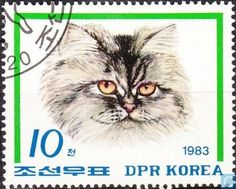 Postage Stamps - North Korea - Cat