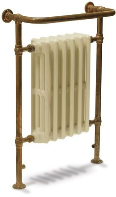UKAA buy and sell Carron Broughton Copper Dual Fuel Towel Rails for bathrooms and traditional victorian cast iron radiators in chrome and copper online. Traditional Towel Radiator, Traditional Radiators, Traditional Bathroom, Bathroom Towel Radiators, Bathroom Towel Rails, Bathroom Furniture, Old Radiators, Cast Iron Radiators, Bathroom Interior Design