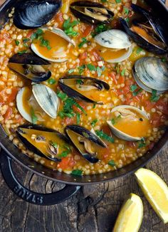 Rustic Italian: Panzanella and Fregula Sarda with Mussels and Clams