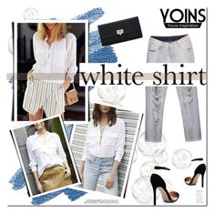 """Yoins - White!"" by tatajrj ❤ liked on Polyvore"