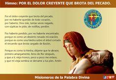 MISIONEROS DE LA PALABRA DIVINA: HIMNO LAUDES - POR EL DOLOR CREYENTE QUE BROTA DEL...