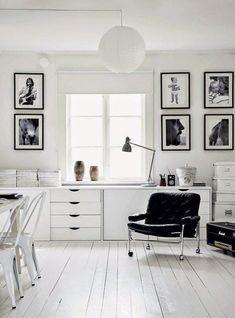 The striking monochrome home of a Swedish photographer (via Bloglovin.com )