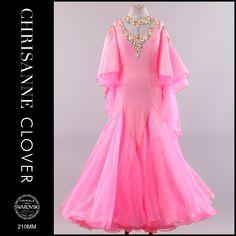 Chrisanne pink cottoncandy modern ballroom dress