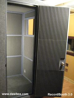 ::::Vocal Booth Plans 4x4x7:::: (for when we have our own house!)