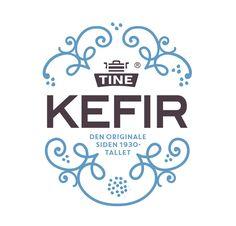 Kefir logo with nice combo of ornaments and san serif. Monogram Wedding, Wedding Monograms, Graphic Design Typography, Graphic Art, Branding Materials, Kefir, Identity Design, Graphic Design Inspiration, Packaging Design
