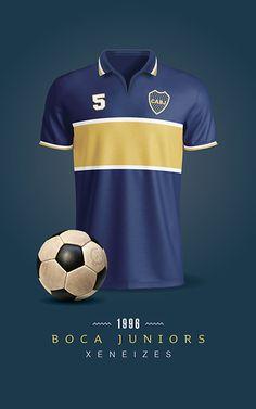 Boca Juniors Soccer T-Shirts / Printable / Wall Art / Poster / Decor Football Shirts, I Shop, Soccer, Printables, Behance, Mens Tops, T Shirt, Shopping, Wallpapers
