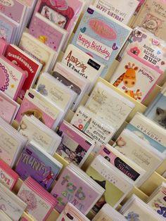 Birthday Cards at Memory Lane