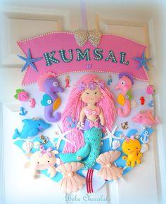 deniz kızı, keçe, takı yastığı, yastık, pillow, felt mermaid, bal kabağı araba kapı süsü, bebechocolate, keçe, felt, cindirella, door wreath, kapı süsleri, bebek kapı süsü, handmade, baby photoalbum, fotoğraf albümü, bebek, prenses, felt princess, felt craft, baby boy, prince, şehzade kapı süsü, felt sea animals, deniz temalı kapı süsü, bebek kapı süsü,