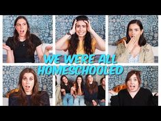 We know a lot of you are having to do school at home right now (bc quarantine) so we decided to share our experiences of being homeschooled! Cimorelli Family, How Its Going, Love You All, Get Over It, Hanging Out, Over The Years, Homeschool, Singer, Make It Yourself