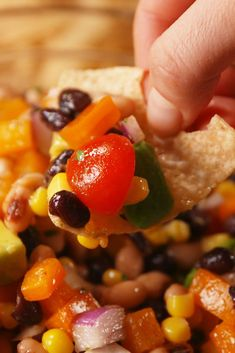 Cowboy Caviar A different kind of delicacy!Get the recipe from Delish. Vegan Appetizers, Appetizer Recipes, Snack Recipes, Cooking Recipes, Appetizer Ideas, Potluck Recipes, Corn Recipes, Recipies, Lentil Recipes