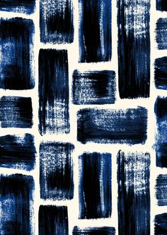 Pattern Design - pattern by Minakani for Otto d'Ame - Motif graphique - Adele Something Pattern Vegetal, Surface Design, Pretty Patterns, Blue Patterns, Mark Making, Textile Patterns, Textile Prints, Repeating Patterns, Pattern Art