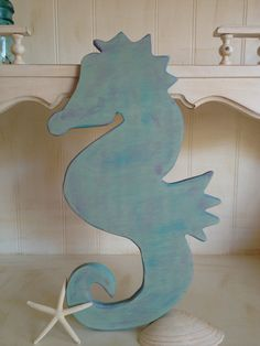 Wooden Mermaid Wall Hanging 4 foot wood glitter mermaid wall art. ocean beach decor hanging