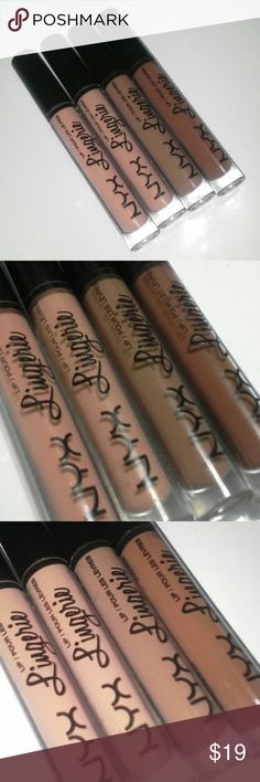 NYX Lingerie bundle All swatched! Baby doll satin ribbon beauty mark and honey…