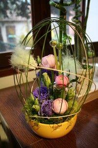 composition florale paques nid douillet mes compo florales pinterest douillette. Black Bedroom Furniture Sets. Home Design Ideas
