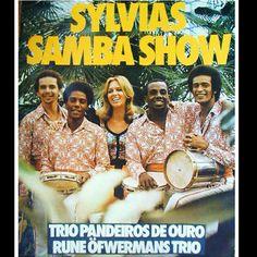 Carlinhos Pandeiro de Ouro, Sylvia's Samba Show poster, Sweden, 1970, courtesy Roger Poirer