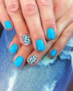 Blue summer nails 2017 animal print Nailart 2017 is part of Sparkly Wedding nails Butter London - Sparkly Wedding nails Butter London Nails 2017, Nail Blog, Blue Nails, Wedding Nails, Summer Nails, Nail Designs, Dots, Polish, Nail Art