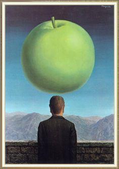 Рене Магритт -  The Postcard  (1960) - Открыть в полный размер