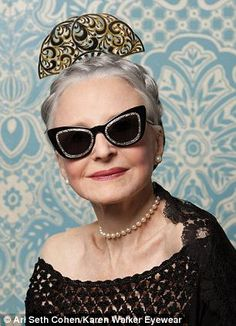 8870848a89d Karen Walker Advanced Style campaign Advanced Style
