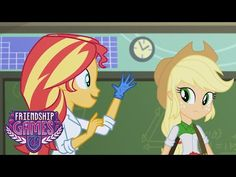 MLP : Equestria Girls - Friendship Games - The Science of Magic (Exclusive Short) - YouTube