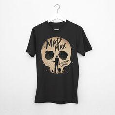 Alternative mad max road warrior movie t-shirt Men-Women 100% cotton single jersey geek retro movie tee