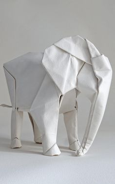 This Guy Wants To Fold A Life-Sized Origami Elephant | Co.Design | business + design *hmmmm ... life-sized paper things ... *ponders possibilities*
