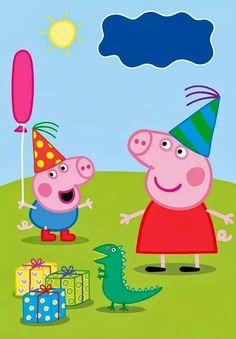 New 2016 Peppa Pig, let's play with Peppa Pig and her family! Invitacion Peppa Pig, Cumple Peppa Pig, Abecedario Baby Shower, Peppa Pig Background, Peppa Pig Familie, Peppa Pig House, George Pig Party, Peppa Pig Invitations, Pig Family