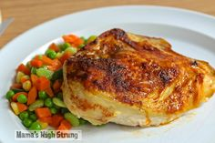 How to Bake Bone-In Skin-On Chicken Breasts Mama's High Strung
