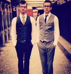 Tyler and Josh of Twenty One Pilots... Love them!