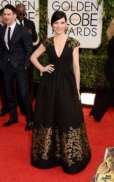 Платья на красной дорожке Golden Globe Awards 2014