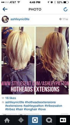 Hotheads extensions 14-16""