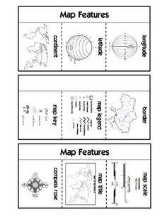 Map skills location on a grid use the map and key to complete the map features interactive notebook ccuart Image collections