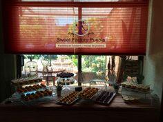 Mesa de postres Sweet factory Puebla Chef Luciana Proietti www.sweetfactorypuebla.com Tel: 2223 28 08 12