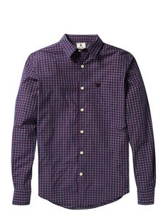 Lyle and ScottTwill Check Shirt