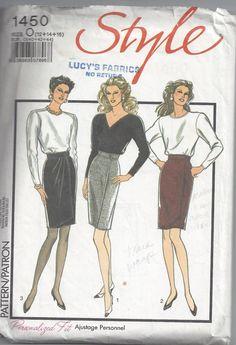 Style 1450 Short Wrap Skirt Sewing Pattern Size 121416 by Buyfoxy, $5.00