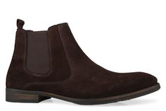 Shoe Connection - Peter James - Phoenix Suede Chelsea Boot in Brown. $189.99 https://www.shoeconnection.co.nz/mens/boots/slip-on-boots/peter-james-phoenix-slip-on-ankle-boot?c=Brown