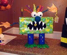 Cutest Monster Valentine Box!