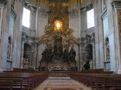Massive St. Peter's Basilica Architecture for Best Vacation : St. Peter's Basilica Acsen View