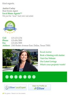 Are you a busy realtor, wanting to look more professional when emailing your clients? You need a professional realtor email signature template. Html Email Signature, Email Signature Templates, Email Templates, Email Marketing Design, Email Design, Best Email Signatures, Email Client, Signature Design, Sample Resume