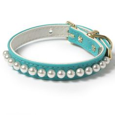 Mini Pearls Dog Collar