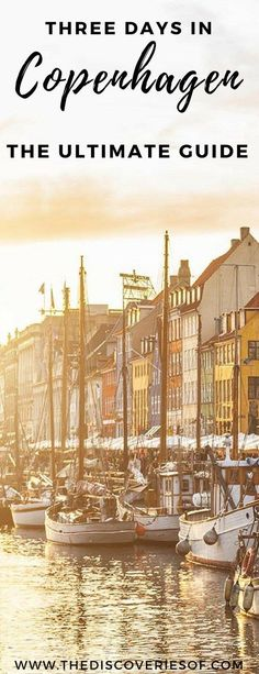 Awesome things to do in Copenhagen, Denmark on a Europe city break. #traveldestinations #citybreak #copenhagen