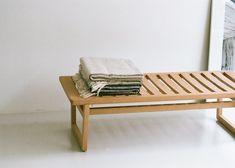 Oak Bench Small by Bautier