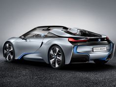 Barely a year after the unveiling of the BMW Concept, BMW i is presenting the second variant of this innovative hybrid sports car: BMW Spyder Bmw I8, 3 Bmw, Bmw Autos, Supercars, Bmw Supercar, Bmw Concept Car, Timeline Cover, Automobile, Peking