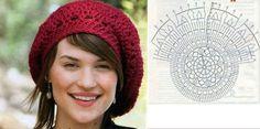 SANDRA CROCHE: Beret et crochet Hat
