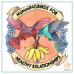 Download your own coloring page - or the entire series here: http://nnedv.org/GetInvolved #HummingbirdsforHealthyRelationships