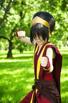 Toph Cosplay - Imgur