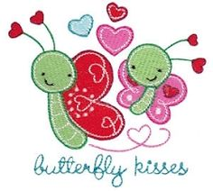 Hugs and Kisses 3 - 2 Sizes! | Words and Phrases | Machine Embroidery Designs | SWAKembroidery.com Bunnycup Embroidery