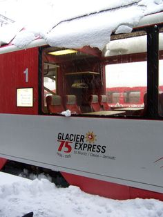 Glacier Express from St. Moritz to Zermatt, Switzerland